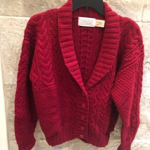 Susan Bristol cardigan burgundy Size M